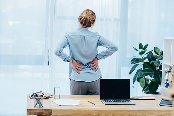 Woman Back Pain Treatment Options